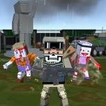 Pixel Multiplayer Survival Zombie
