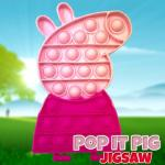 Pop It Pig Jigsaw